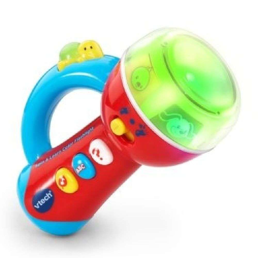 Vtech Spin & Learn Colours Torch image 0