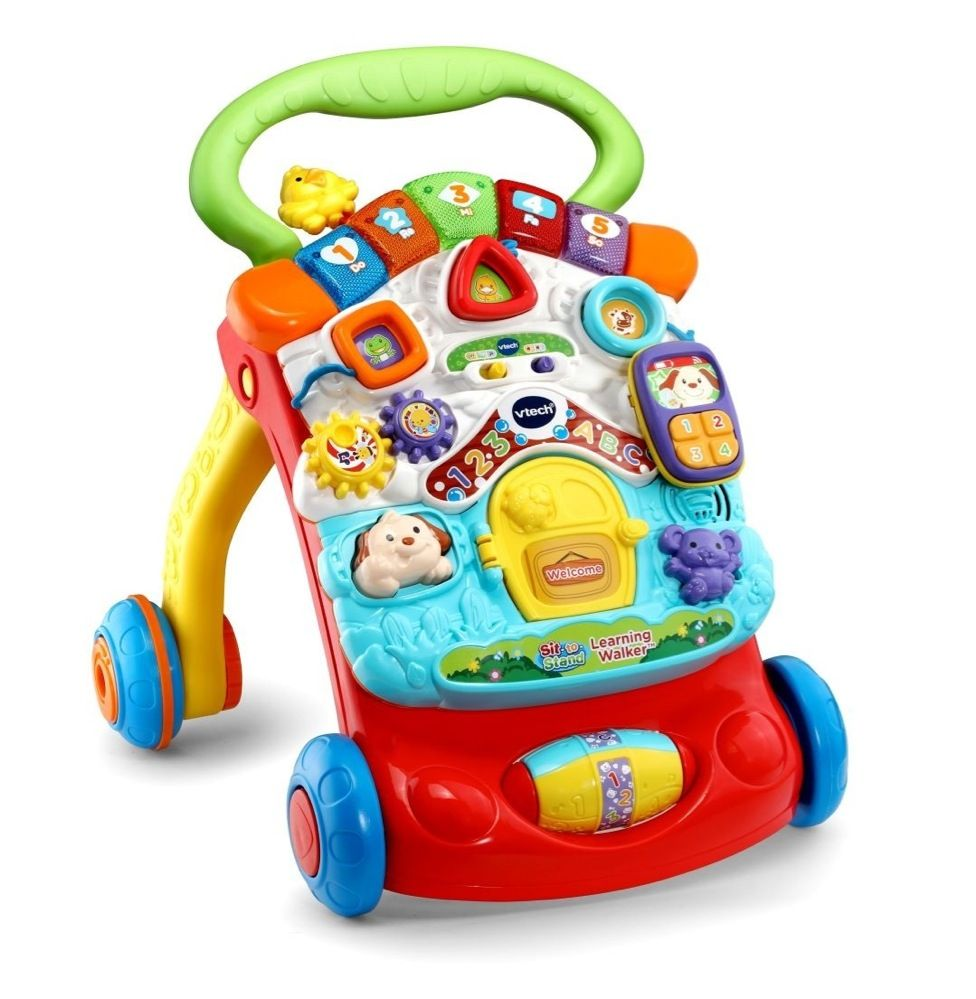 Vtech First Steps Baby Walker Yellow image 0