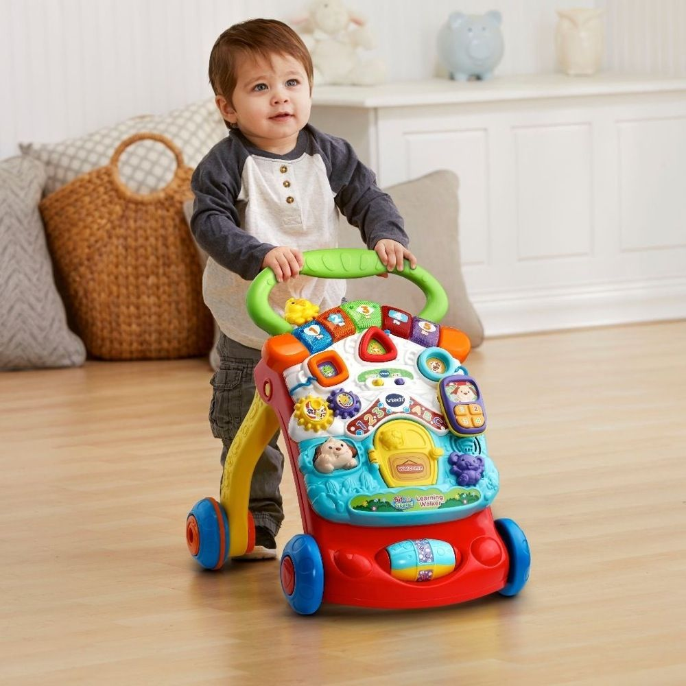 Vtech First Steps Baby Walker Yellow image 4