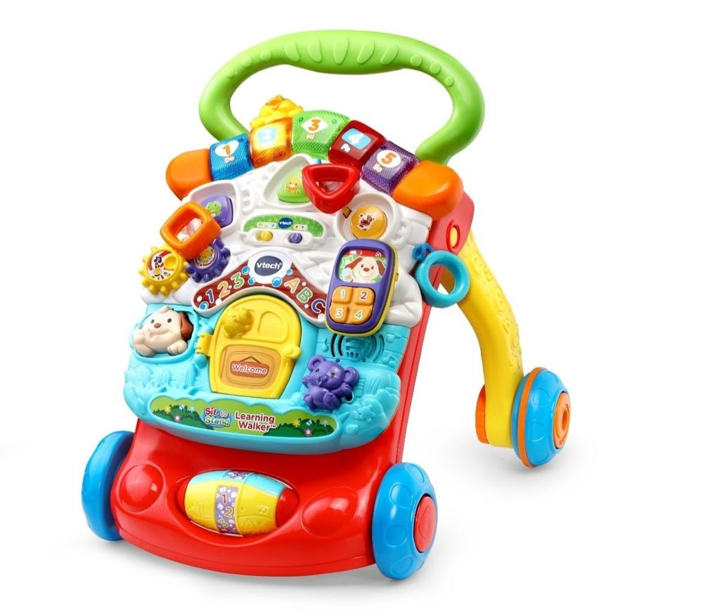 Vtech First Steps Baby Walker Yellow image 5