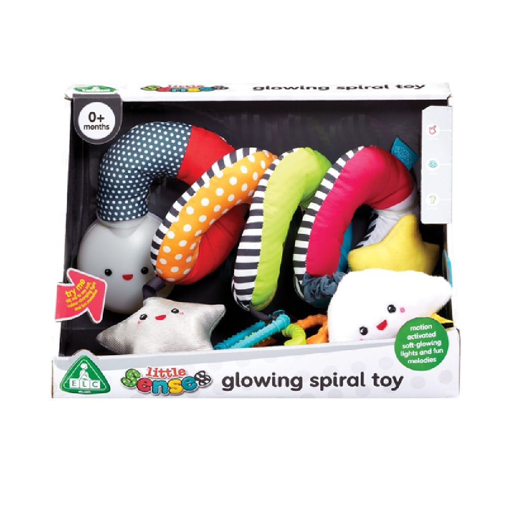 ELC Little Senses Glowing Spiral Toy image 1