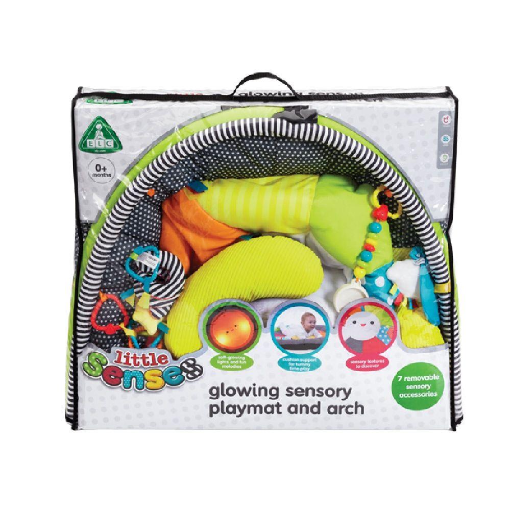 ELC Little Senses Glowing Sensory Playmat & Arch image 1