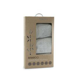 Bubba Blue Grey Bamboo Wash Cloth 3 Pack