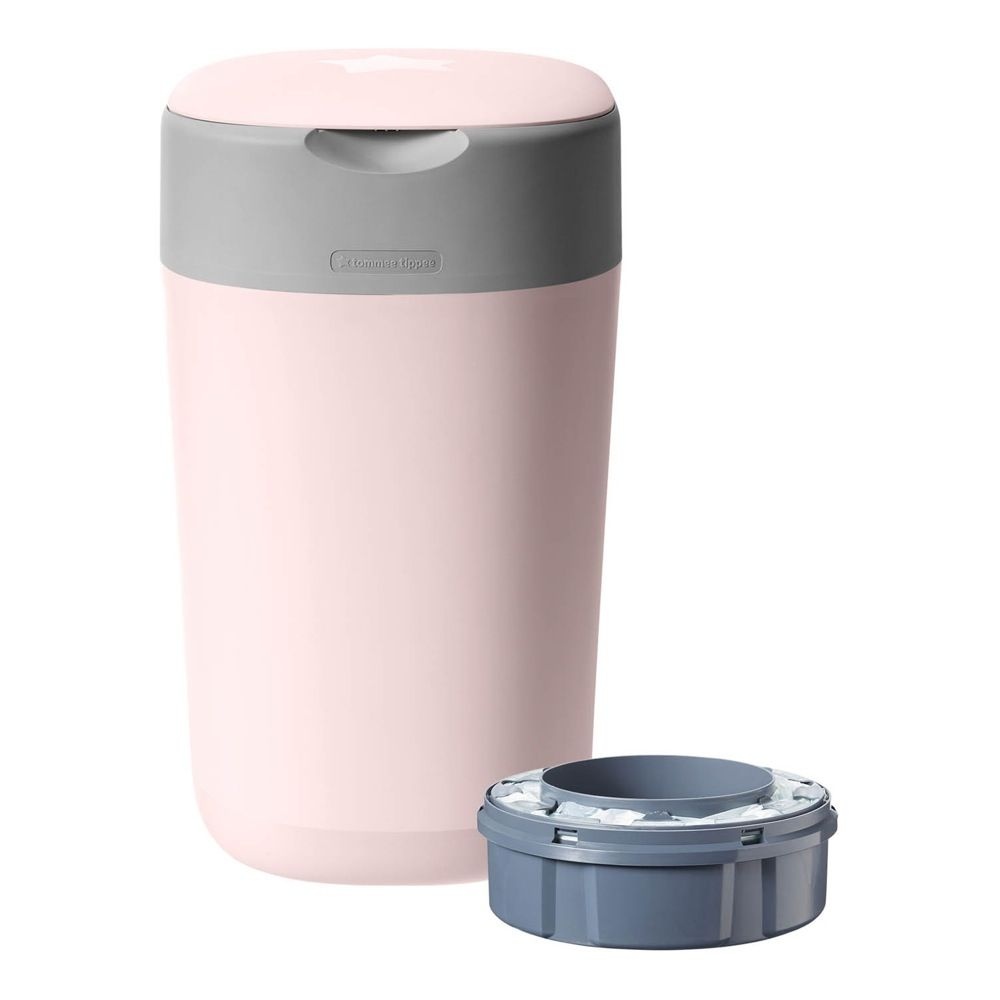 Tommee Tippee Twist & Click Nappy Disposal Unit - Pink