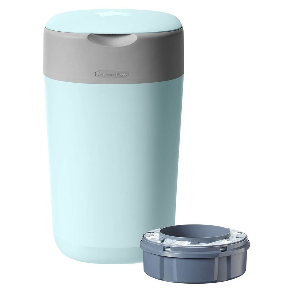 Tommee Tippee Twist & Click Nappy Disposal Unit - Cloud Blue