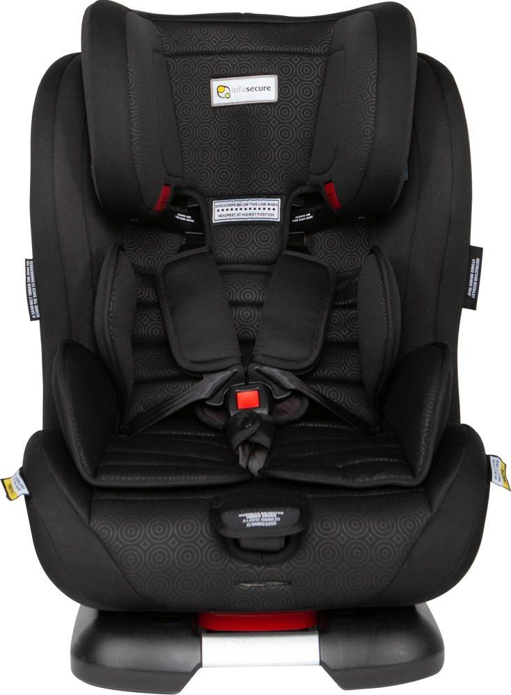 Infasecure Luxi II Caprice 0 To 8 Years Mini Swirl Black