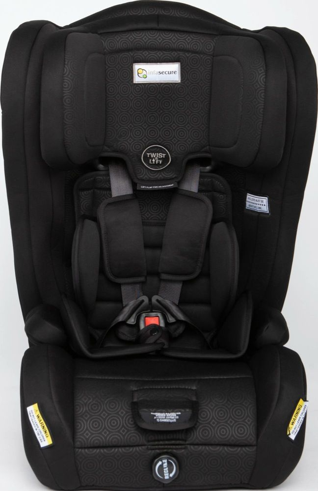 Infasecure Emerge Caprice 12 Months to 8 Years Mini Swirl - Black
