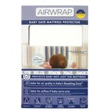 Airwrap Baby Safe Mattress Protector Cot Standard White image 0