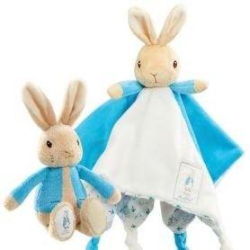 Beatrix Potter Peter Rabbit Rattle & Comforter Gift Set