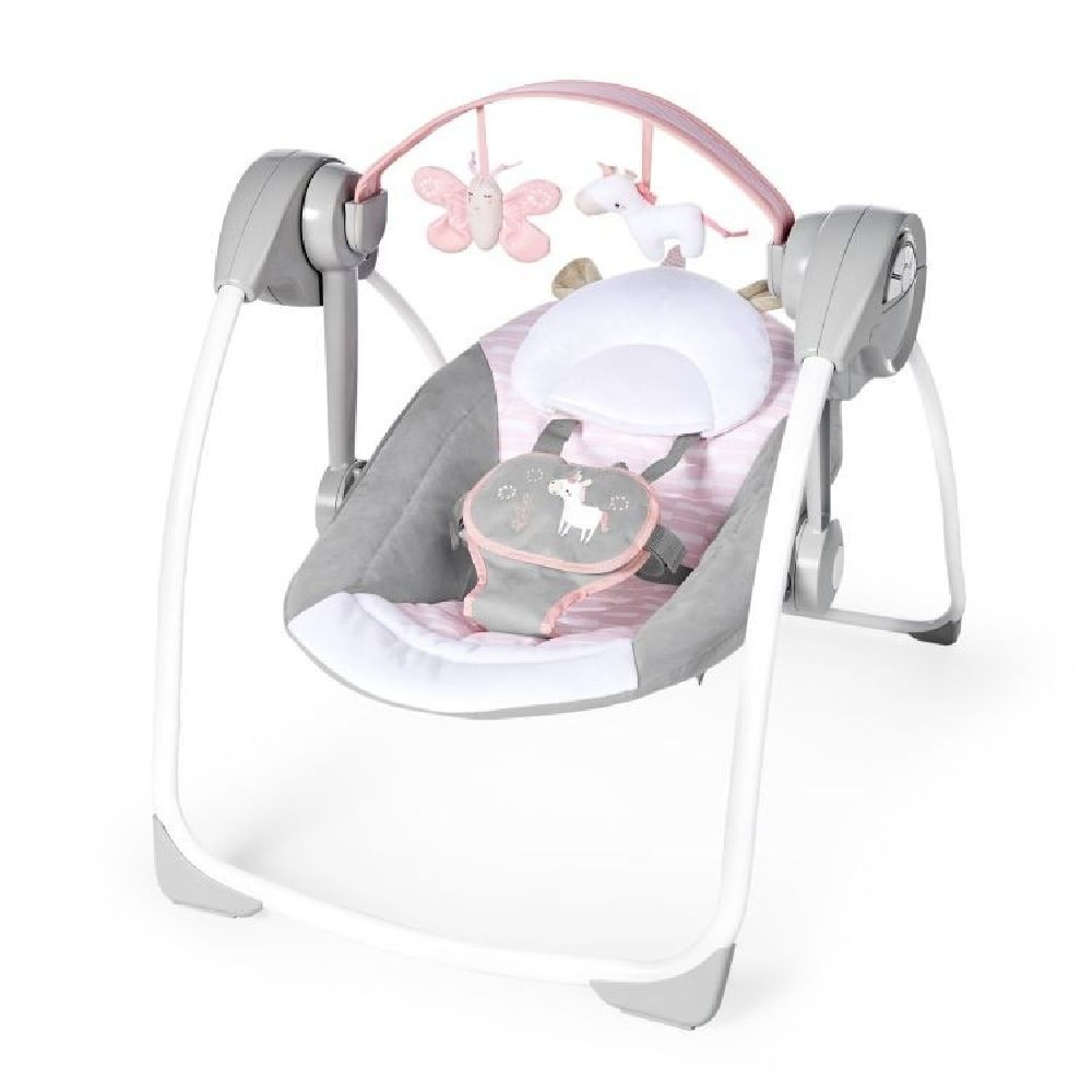 Ingenuity Comfort 2 Go Portable Swing Flora