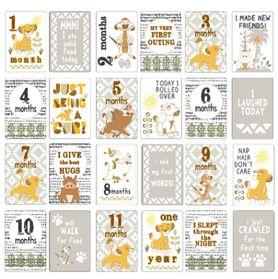 Disney Lion King Milestone Cards
