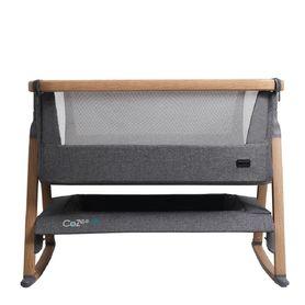 Tutti Bambini Cozee Air Co-Sleeper Bassinet Oak / Charcoal