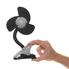 Dreambaby EZY-Fit Clip-On Fan Black/Grey