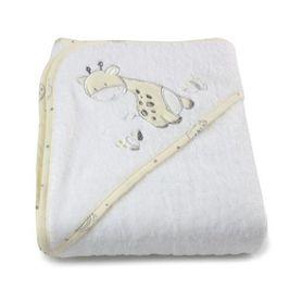 Bubba Blue Playtime Hooded Towel Vanilla