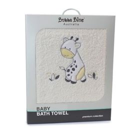 Bubba Blue Playtime Bath Towel Vanilla