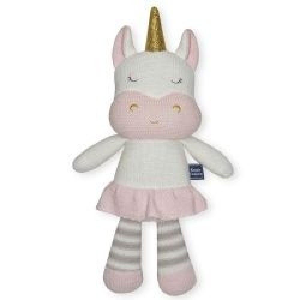 Living Textiles Softie Toy Kenzie The Unicorn