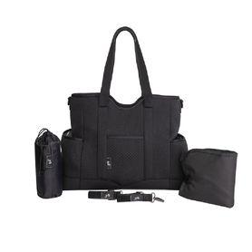 Great Expectations Lulu Satchel Nappy Bag Black