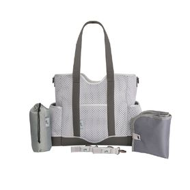 Great Expectations Lulu Satchel Nappy Bag Grey