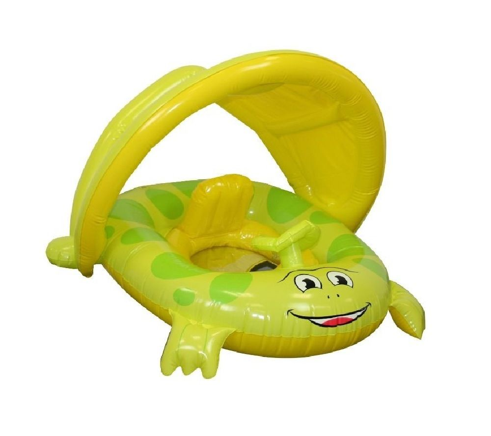 Beach Club Froggy Baby Seat With UV Canopy image 0