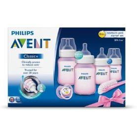 Avent Newborn Starter Set PP Pink
