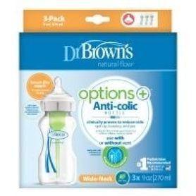Dr Browns Options+ Wide Neck Bottle 270ml 3 Pack