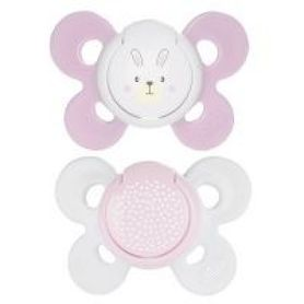 Chicco Physio Comfort Soother 0-6 Months 2 Pack Pink