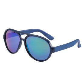 Frankie Ray Baby Pilot Sunglasses Matte Blue