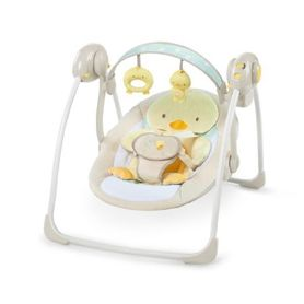 Ingenuity Soothe 'n Delight Portable Swing Quacks & Cuddles