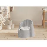 BabyBjorn Potty Chair - Grey/White image 1