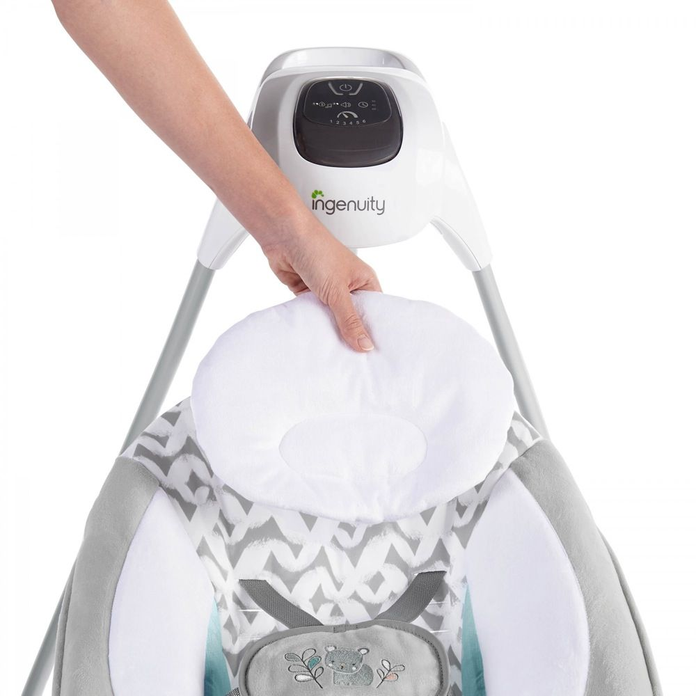 Ingenuity SimpleComfort Cradling Swing & Rocker Raylan image 11