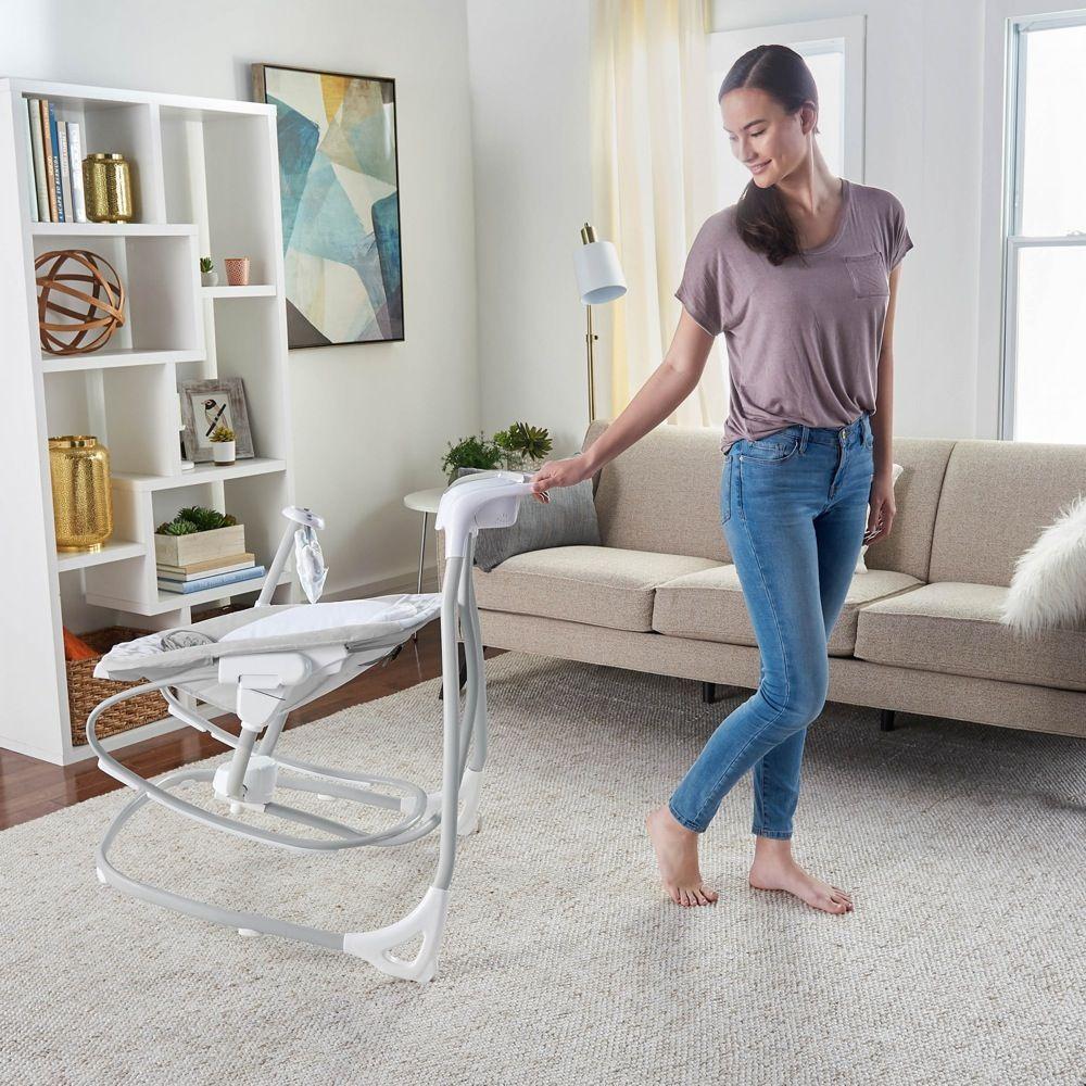 Ingenuity SimpleComfort Cradling Swing & Rocker Raylan image 13