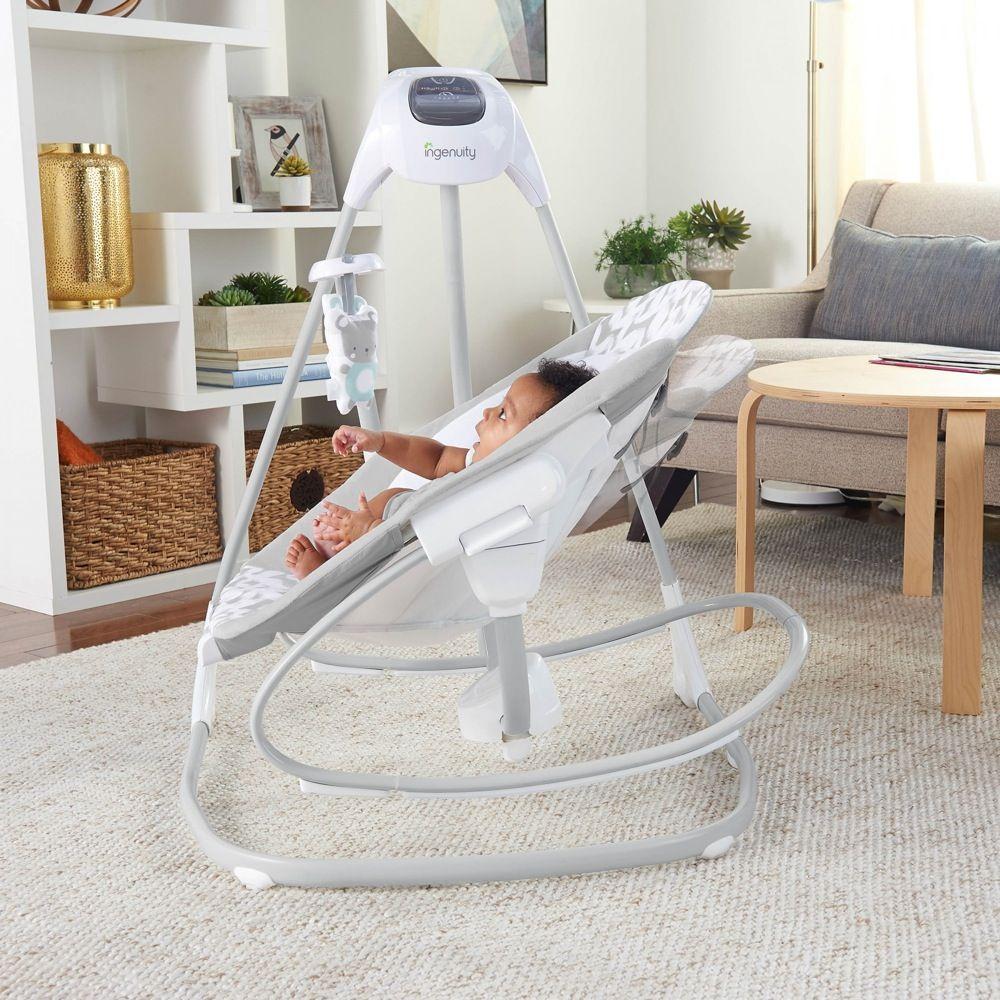 Ingenuity SimpleComfort Cradling Swing & Rocker Raylan image 14