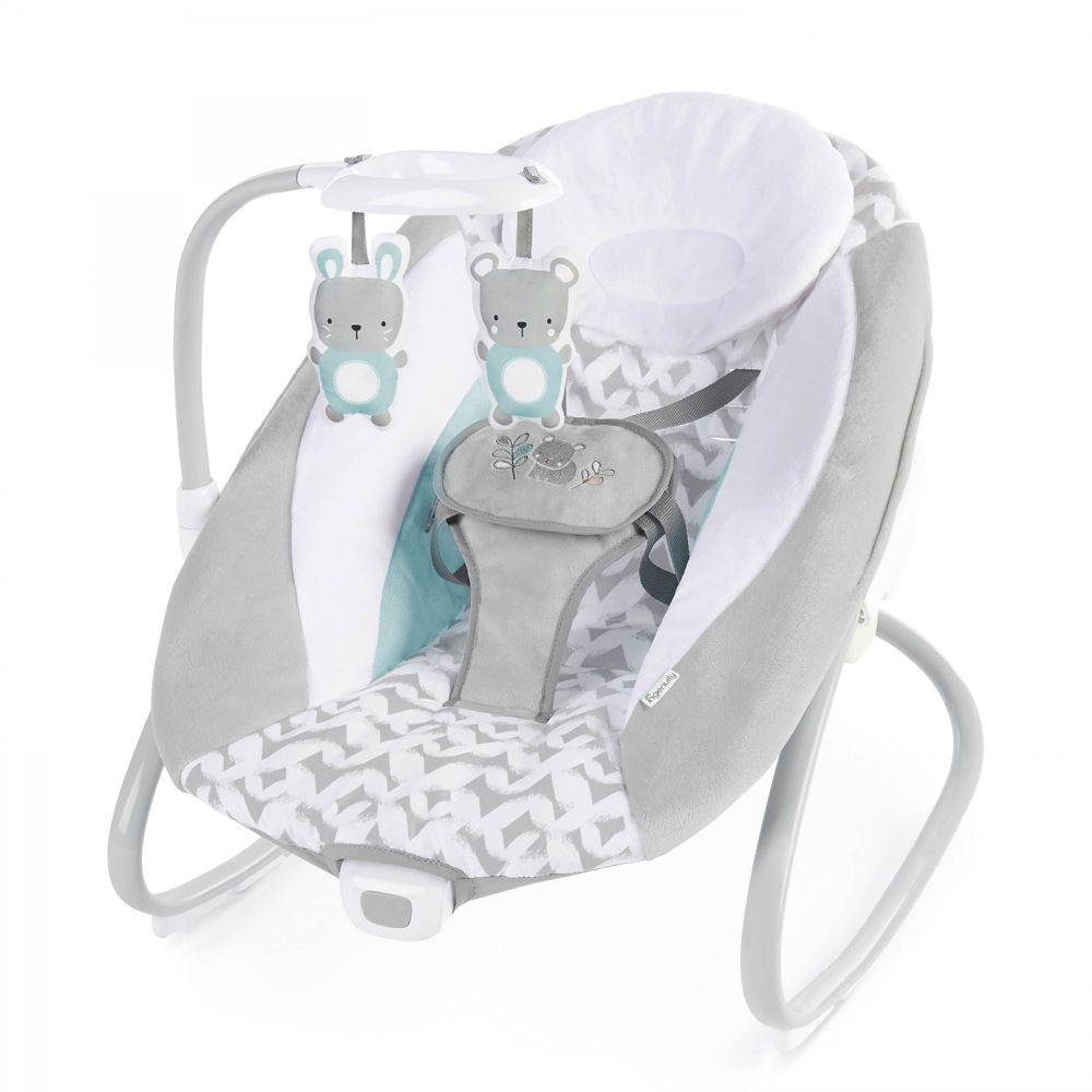 Ingenuity SimpleComfort Cradling Swing & Rocker Raylan image 1
