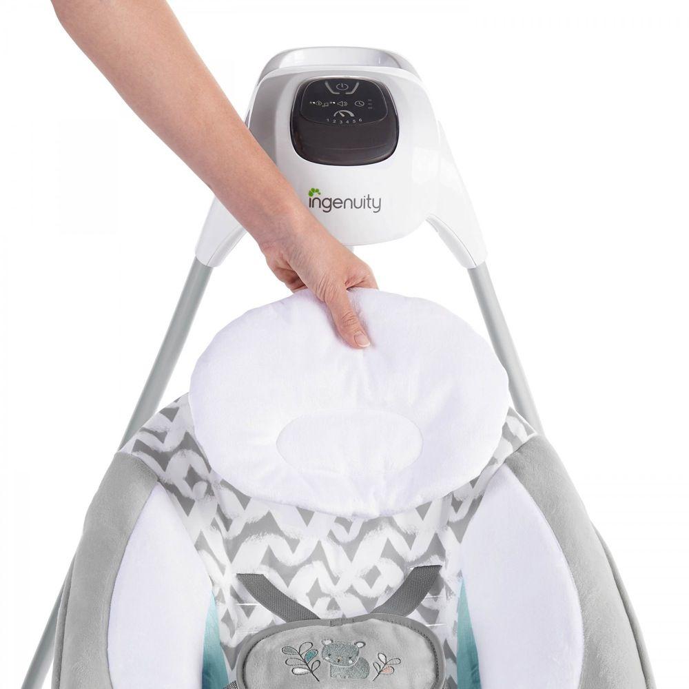 Ingenuity SimpleComfort Cradling Swing & Rocker Raylan image 5