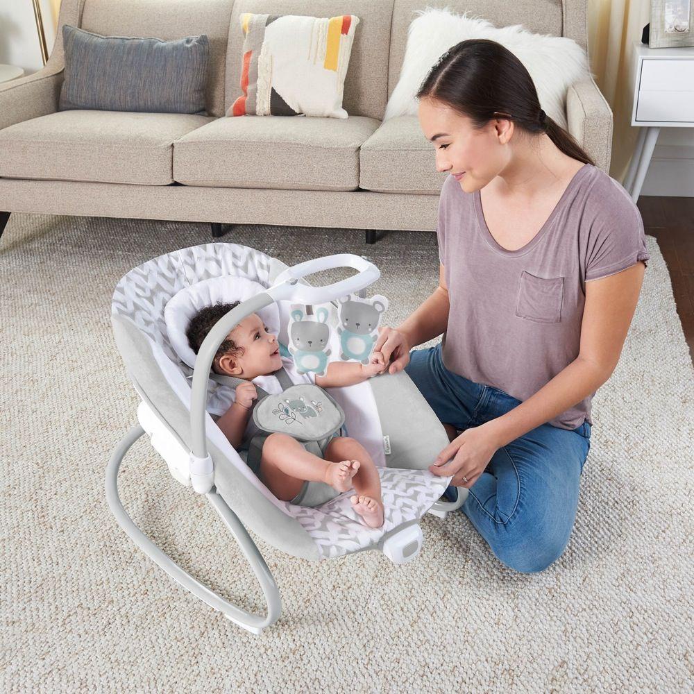 Ingenuity SimpleComfort Cradling Swing & Rocker Raylan image 6