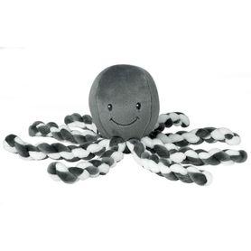 Nattou Lapidou Collection Octopus White/Grey