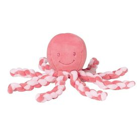 Nattou Lapidou Collection Octopus Coral/Pink