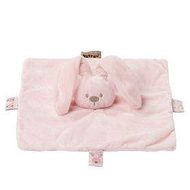 Nattou Lapidou Collection Doudou Comforter Bunny Pink
