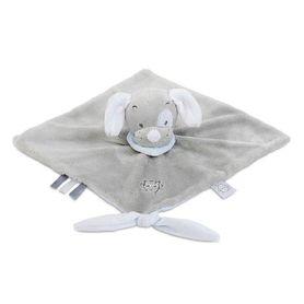 Nattou Doudou Comforter Toby The Dog Blue/Grey