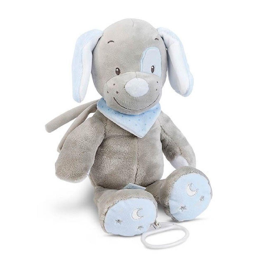 Nattou Musical Toby The Dog Blue/Grey image 0