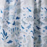 Weegoamigo Muslin Wrap Dino Blue image 2