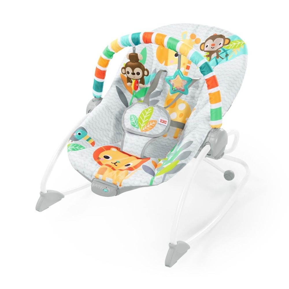 Bright Starts Infant To Toddler Rocker - Safari Blast
