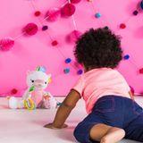 Bright Starts Bunch-O-Fun Plush Toy Unicorn image 0