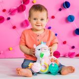 Bright Starts Bunch-O-Fun Plush Toy Unicorn image 2