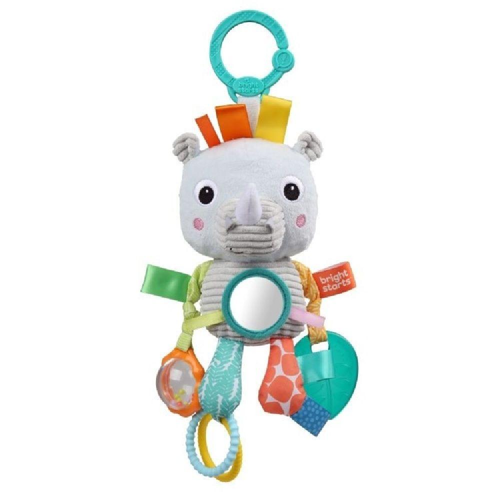 Bright Starts Playful Pals Activity Toy Rhino image 5