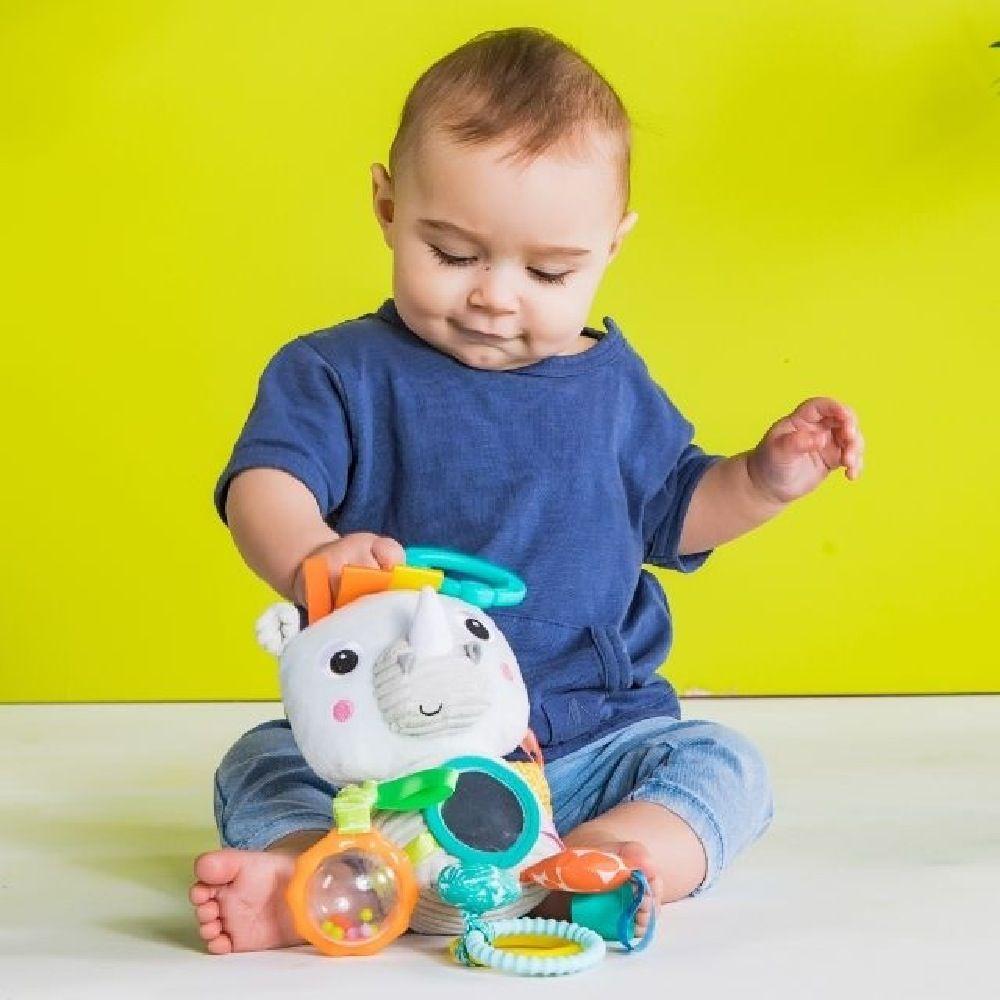 Bright Starts Playful Pals Activity Toy Rhino image 6