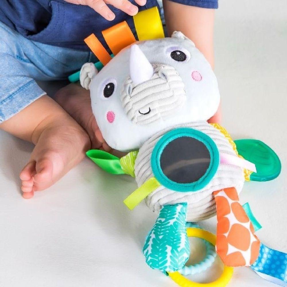 Bright Starts Playful Pals Activity Toy Rhino image 7