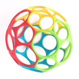 """Oball 4"""" Classic Red Blue Green Yellow image 0"""