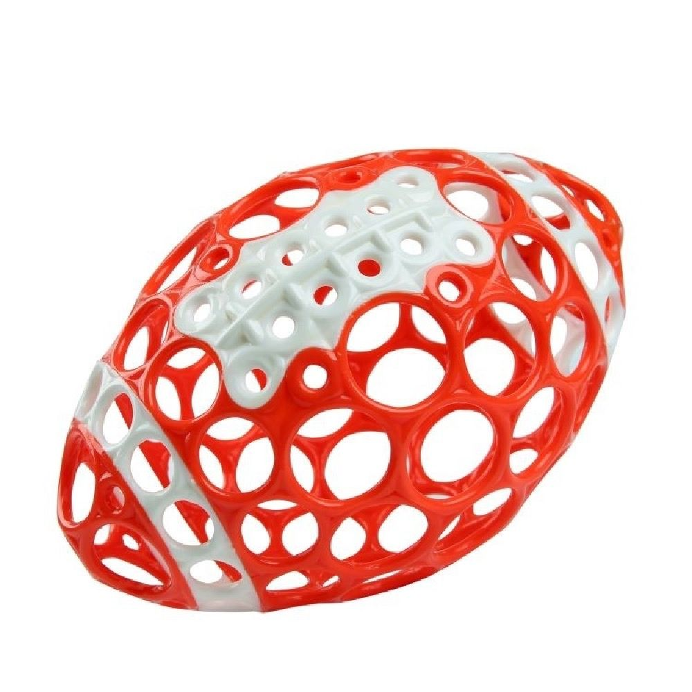 Oball Grasp & Play Football Red/White