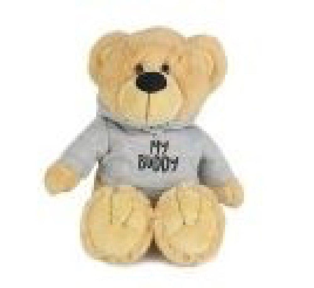 Korimco Buddy Bear With Sweatshirt 38cm